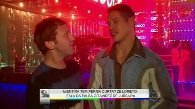 'Por amor, as coisas são perdoadas', garante José Loreto - Jussara tenta a sorte na boate Boogie Oogie