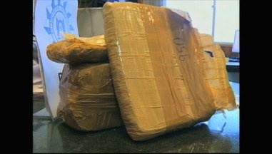 Defrec apreende quase 3 kg de maconha em Rio Grande, RS - Homem foi preso e um menor de idade foi apreendido.