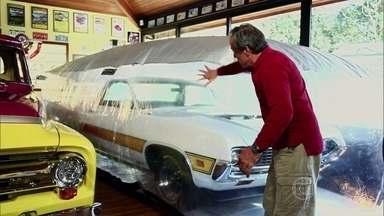 Proteja o veículo com um acessório inusitado: uma bolha - Uma capa de proteção que enche de ar e não deixa nada encostar ou arranhar o seu xodó.