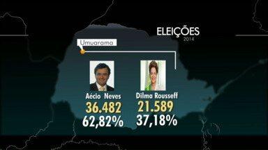 Veja como ficou a divisão dos votos nas três maiores cidades do Noroeste - Em Paranavaí, Umuarama e em Cianorte, eleitores votaram neste domingo.