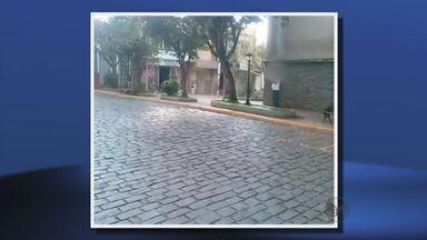 Internauta flagra desperdício de água em Brazópolis - Internauta flagra desperdício de água em Brazópolis