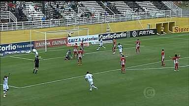 Boa Esporte perde para o Bragantino e com isso a chance de se aproximar do G-4 - Time agora tem tarefa difícil na busca pelo acesso