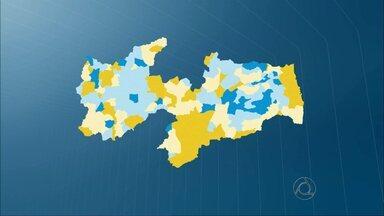 JPB2JP: Ricardo Coutinho teve maioria dos votos em 117 cidades paraibanas - Veja mapa.