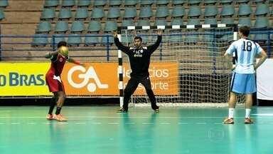 São Paulo recebe torneio Quatro Nações de Handebol - Brasil, Argentina, Egito e Argélia participam da competição.