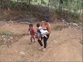 Calendário: Equipe de reportagem retorna a Fabriciano e Valadares - Rua em Coronel Fabriciano causa transtornos para moradores.