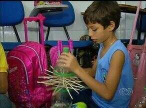 Escola da capital ensina empreendedorismo à crianças através de feira - Escola da capital ensina empreendedorismo à crianças através de feira