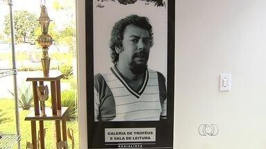 Sala de troféus homenageia radialista esportivo goiano - José Pereira dos Santos dá nome ao espaço na Agecom