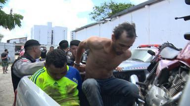Vários estabelecimentos são assaltados em um dia em Campina Grande - Em um dos casos policiais perceberam a ação e conseguiram deter os suspeitos.