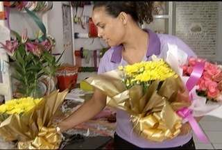Floriculturas de Montes Claros estão prontas para o dia de finados - Proprietários prometem diversidades.