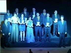 Inter TV dos Vales é homenageada com o prêmio Notórios em Ipatinga - Essa é a segunda vez que a emissora recebe a homenagem