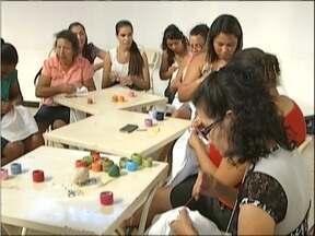 Projeto do Senar gera renda para famílias do Leste de Minas - As técnicas de bordados são resgatadas