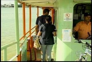 Tarifa das barquinhas, que fazem a travessia entre Petrolina e Juazeiro, ficam mais caras - O novo preço será de R$ 1,20.