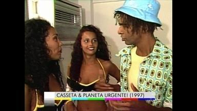 Viviane Araújo tentou ser a Morena do Tchan - Concurso no Domingão do Faustão elegeu a nova dançarina do grupo