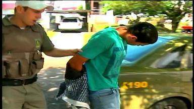 Dois jovens são presos em assalto a joalheria em Erechim, RS - Testemunha chamou a polícia e os bandidos foram presos.