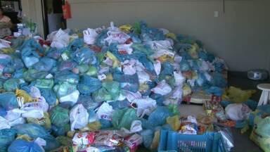 Campanha Natal sem Fome está arrecadando alimentos para famílias de Cianorte - A meta da campanha este ano é arrecadar 20 toneladas de alimentos para famílias pobres da cidade. Veja como você pode ajudar.