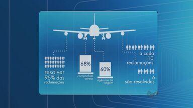 Procon indica aumento de reclamações em aeroportos em São Paulo - Pesquisa feita pelo órgão indica ainda que quantidade soluções dos problemas está abaixo do esperado.