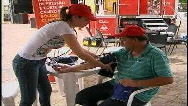 Ações sociais promovem saúde em Urguaiana, RS - Os motoristas estão entre os profissionais beneficiados.