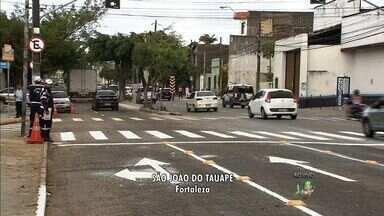 AMC anuncia mudanças no tráfego do Bairro São João do Tauape, em Fortaleza - Trecho da Av. Visconde do Rio Branco entre a BR-116 e a Av. Pontes Vieira passa a ter sentido único.