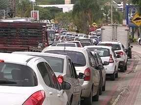Estudo aponta que vias de acesso à ilha de Florianópolis estão saturadas - Estudo aponta que vias de acesso à ilha de Florianópolis estão saturadas