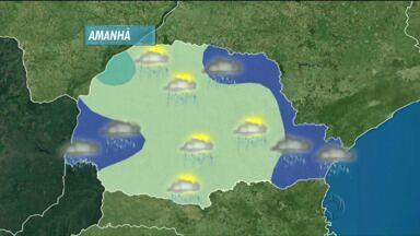 Calor traz pancadas de chuva para todo o estado - Várias cidades terão temperaturas acima de 30° nesta terça-feira.
