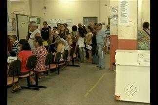 Pacientes enfrentam filas para ter consulta na URE da Presidente Vargas, em Belém - O Bom Dia Pará mostrou ao vivo como estava a espera pela consulta com o cardiologista e dermatologista.