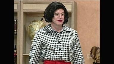 Divirta-se com paródia de Hilda Furacão - Sai de Baixo brincava com cena da minissérie em 1998