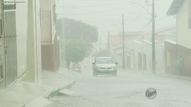 Moradores do Sul de Minas agradecem volta da chuva na região - Moradores do Sul de Minas agradecem volta da chuva na região
