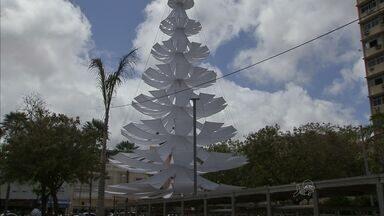 Faltam três dias para a abertura do Natal de Luz, na Praça do Ferreira - Abertura terá show de Raimundo Fagner.