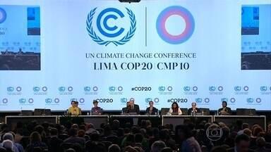 Representantes de 190 países se reúnem para planejar Conferência do Clima de Paris - Depois do fracasso que foi a conferência de Copenhague, em 2009, em Lima, o que os cientistas e diplomatas que participam da conferência querem é botar essas promessas em um documento oficial.