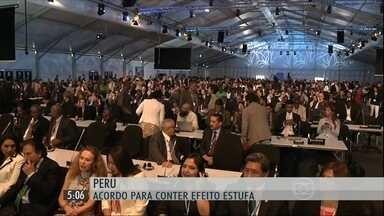 Representantes de 140 países estão em Lima, no Peru, para discutir o futuro do clima - Principal objetivo é tentar um acordo para limitar a emissão dos gases.