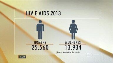 Cresce o número de casos de Aids entre os mais jovens - Jovens entre 15 e 24 anos formam maior grupo de risco. Uma nova geração está chegando à idade adulta sem muito se preocupar. Os jovens que não viveram os dramas da epidemia nos anos 80.
