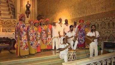 Dia nacional do samba é celebrado em igreja na capital - Foi uma integração entre música e religiosidade.