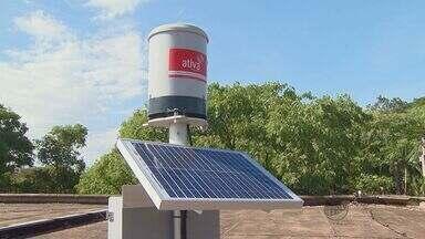 Pluviômetros são instalados em Rio Claro para monitorar as chuvas - Pluviômetros são instalados em Rio Claro para monitorar as chuvas