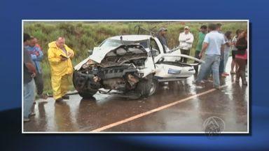 Acidente envolvendo veículo da Copasa deixa um morto em Jacuí - Acidente envolvendo veículo da Copasa deixa um morto em Jacuí
