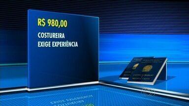 Confira as vagas de emprego em Goiânia - Empresa contrata costureira com salário de R$ 980. É necessário ter experiência.
