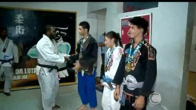 Três atletas do Jiu Jitsu piauiense conquistaram ouro no Campeonato Sulamericano - Três atletas do Jiu Jitsu piauiense conquistaram ouro no Campeonato Sulamericano