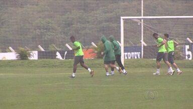 """Goiás espera que """"mau tempo"""" passe no Brasileirão - Com quatro derrotas seguidas, time trabalha para vencer na despedida da Série A."""