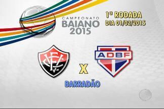 Divulgada a tabela do Campeonato Baiano 2015 - A rodada começa no dia 1° de fevereiro.