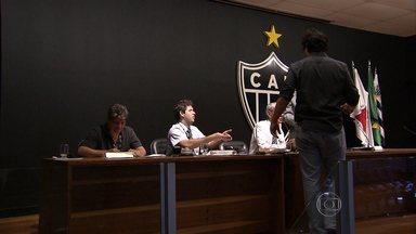 Eleição para eleger novo presidente do Atlético-MG acontece tranquilamente na sede - Com chapa única, Daniel Nepomuceno deverá ser eleito no final da tarde