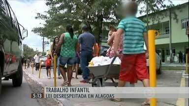 Crianças trabalham como gente grande em feiras livres de Alagoas - Apesar da CLT, do Estatuto da Criança e do Adolescente e da Constituição Federal, que garantem os direitos de meninos e meninas, a situação não muda