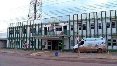 Pacientes não conseguem atendimento no hospital de Barra do Bugres (MT) - Pacientes não conseguem atendimento no hospital de Barra do Bugres (MT).