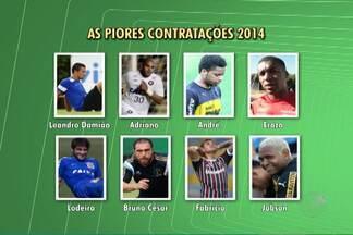 Jogador do Bahia está em lista com as piores contratações de 2014 - Atleta chegou como promessa mas, segundo blogueiro, não foi um bom negócio.
