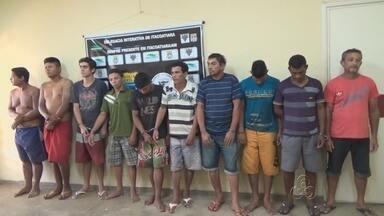 Operação prende 17 pessoas em cidade no Amazonas - Ação foi realizada em Itacoatiara