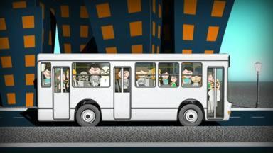 """Quadro """"No Busão"""" acompanha os moradores do Jardim Paraíso - Eles reclamam da demora com que os ônibus passam no bairro"""