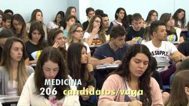 Vestibular da UEM começa no domingo - Medicina tem mais de 200 candidatos por vaga