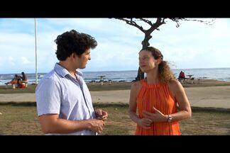 Timbó conversa com Fátima Suarez sobre a 6ª jornada de dança da Bahia - A professora e coreógrafa, Fátima Suarez fala sobre a 6ª jornada de dança,evento que reúne dança, educação, oficinas e apresentações no Teatro Castro Alves.