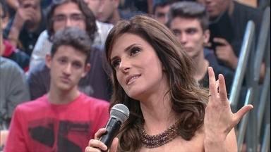 Monalisa Perrone comenta a sua nova rotina com Hora 1 - Jornalista conta que dorme às 18h e chega na emissora às 1h30