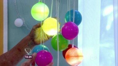 Veja as dicas de decoração que Jairo usou no 'Dando um Retoque' - Arquiteto também deu dicas enfeites de Natal repaginados
