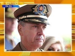 Comandante-geral da Polícia Militar de SC será substituído - Comandante-geral da Polícia Militar de SC será substituído