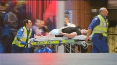 Sequestro em Sydney termina com três mortos - O sequestrador atacou na manhã de segunda-feira (15). Fez 17 reféns na cafeteria. Entre eles, a brasileira Márcia Mikhael, funcionária de um banco. Houve tiroteio e três pessoas morreram, entre eles o criminoso.